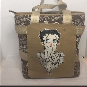 Betty Boop  canvas tote